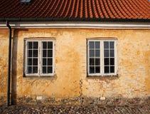 Hus på den Kronborg slotten Arkivbilder