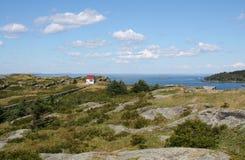 Hus på den Manana ön Royaltyfri Foto