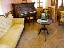 Hus på det tyska museet på Frutillar, Chile Fotografering för Bildbyråer