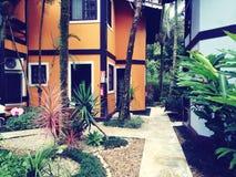Hus på djungeln Royaltyfri Bild