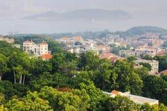Hus på gulangyuön, Xiamen Arkivfoton