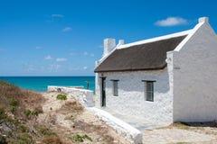 Hus på havet Arkivbilder