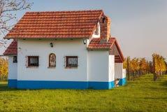 Hus på kullen Arkivbilder
