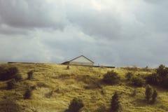 Hus på kullen Royaltyfri Bild