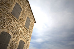hus provence Royaltyfri Bild