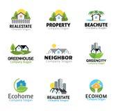 Hus Real Estate planlägger Arkivbilder