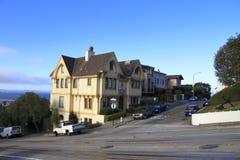 Hus - San Francisco - Kalifornien Royaltyfri Fotografi