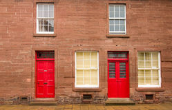 hus scotland Arkivbilder