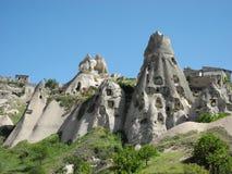 Hus som göras av mjuk vulkanisk tuff Royaltyfria Bilder