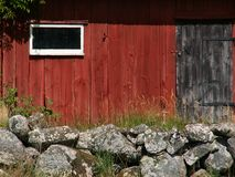 hus sweden arkivbild