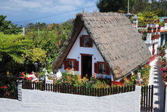 hus traditionella madeira Royaltyfria Foton