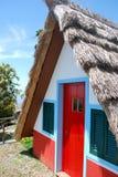 hus typiska madeira Royaltyfri Foto