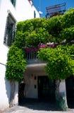 hus typiska padova Royaltyfria Bilder