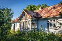 hus ukraine Fotografering för Bildbyråer