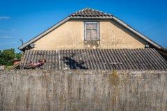 hus ukraine arkivfoton
