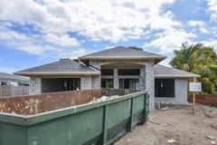 Hus under konstruktion Royaltyfri Foto