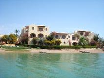 Hus vid havet royaltyfri fotografi