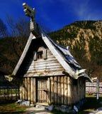hus viking Royaltyfria Bilder