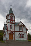Husavik Church, Northern Iceland Royalty Free Stock Photography