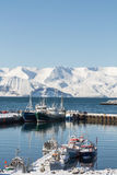 Husavik harbour Stock Photos
