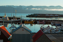 Husavik, Iceland, Northern Europe Royalty Free Stock Photos