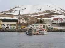 Husavik Island Stockfoto