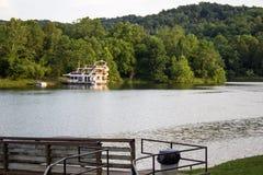 Husbåt i Kentucky royaltyfria foton