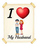 Husband Royalty Free Stock Photography