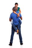 Husband lifting wife Stock Photo