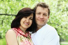 Husband and wife Royalty Free Stock Photography