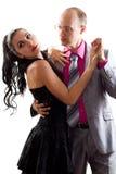 husband and wife dancing Stock Image