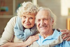 Husband and wife Royalty Free Stock Photo