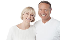 Husband and wife happy together Stock Image