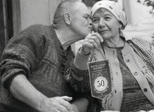 Husband and wife inside the team celebrate the anniversary of a joint life of 50 years