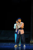 Husband and wife- Jiangxi opera a steelyard Stock Photography