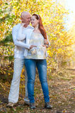 Husband and wife - prospective parents Stock Images
