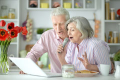 Husband and wife singing songs Royalty Free Stock Photography