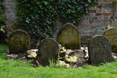 Husdjurkyrkogård, sommarhus, Mottisfont abbotskloster, Hampshire, England Arkivfoton