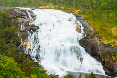 Husedalen - Valley of waterfalls Norway. Giant Stock Photo