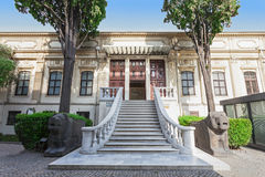 Häuser der Istanbul-Archäologie Museum Lizenzfreies Stockbild