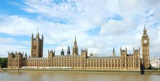 Häuser des Parlaments Stockbild