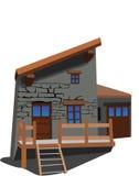 Huset 3 Arkivfoto