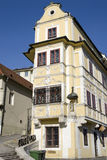 Huset av den bra herden i Bratislava Arkivbild