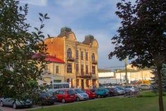 Huset av den handels- Muraveva i Grodno royaltyfria foton
