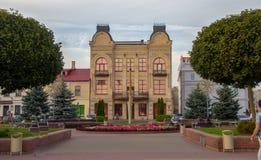 Huset av den handels- Muraveva i Grodno royaltyfria bilder