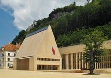 Huset av parlamentet i Vaduz Royaltyfria Foton