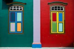 Huset av Tan Teng Niah Arkivbild