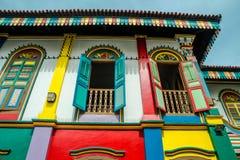 Huset av Tan Teng Niah Royaltyfria Bilder
