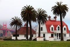 Huset för gammal vakt royaltyfri bild