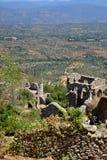 Huset fördärvar, övrestaden, Mystras Arkivbild